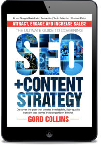 Ebook SEO Content Strategy Guide by Gord Collins