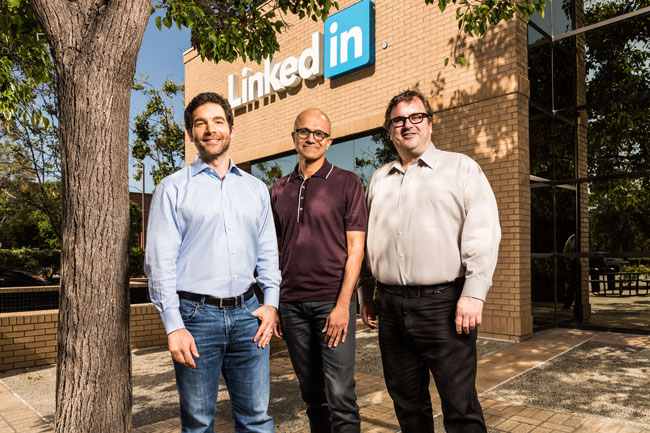 Microsoft is Buying Linkedin