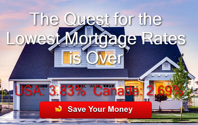 Lowest Mortgage Rates USA