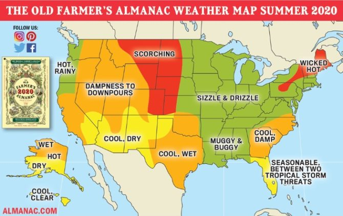 US Weather Forecast – Outlook Winter 2020
