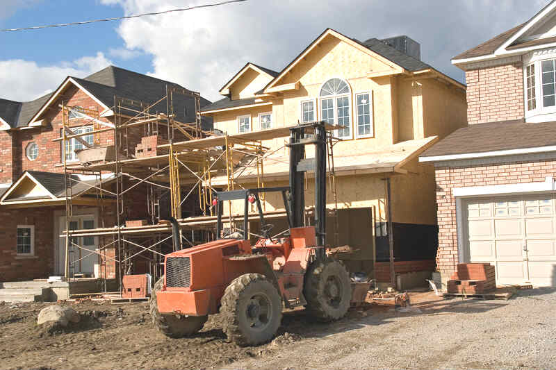 Housing Construction Site