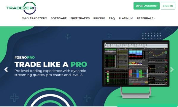 TradeZero ZeroPro.