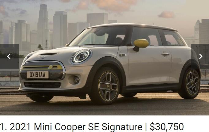 Mini Cooper EV