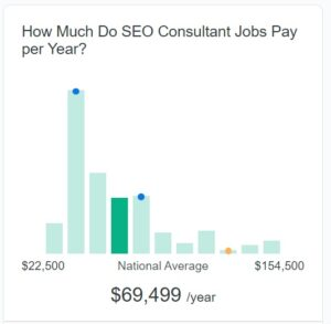 seo consultant earnings